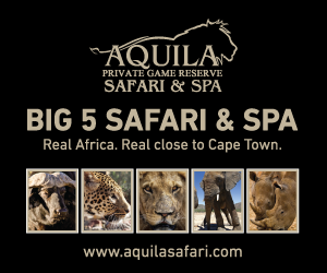 Aquila safaris, cape town